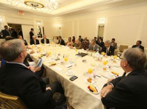 PM  Modi's  meet  with  US  Business  Executives,  Sep 29,  2014
