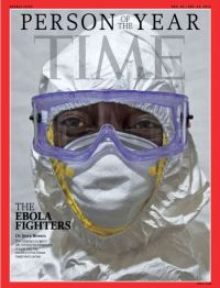 Ebola  Fighters  -  TIME's  Person  of  the  Year  2014.