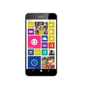 Microsoft  Lumia  638,  the  first  smartphone  in  India  with  4G  network.