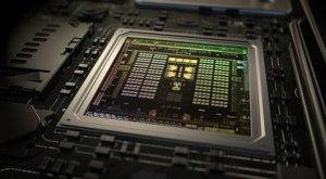 Nvidia  Tegra  X1  Chip  at  CES  2015.