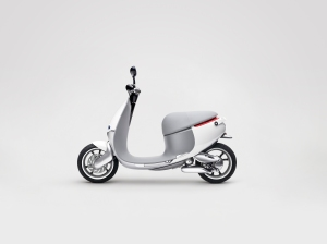 """ Gogoro ""  Electric  Smartscooter  -  International  CES  2015."