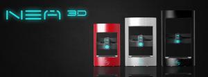 NEA  3-D  Inc  Printer  at  CES  2015