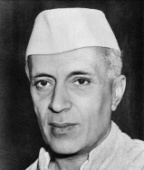 Late  Jawaharlal  Nehru,  India's  First  PM.