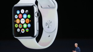 "Apple  "" iWatch ""  launch,  Mar  9,  2015."