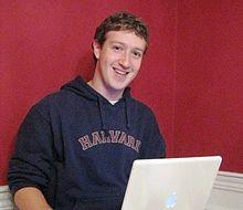 Mark  Zuckerberg,  Co creator  of  FB  in  Harvard  Dorm  Room  in  2005.