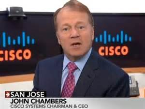 John  Chambers,  CEO,  Cisco  Systems  Inc;  U.S.A.