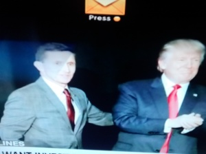 Gen Michael Flynn with Donald Trump.